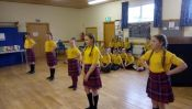 Junior Choir and Highland Dancers Form a Double Act!