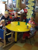 Christmas Dinner in Nursery!