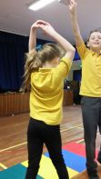 Year 6B enjoying the large apparatus.