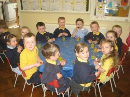 Our visit to Holy Child Nursery