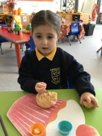 Our first day in Nursery 2!
