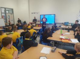 NIFRS visit Primary 5