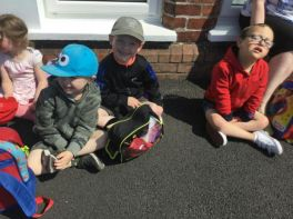 Nursery trip to Castlerock!