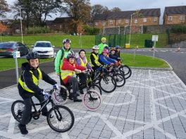 Sustrans Active School Travel Cycle Training