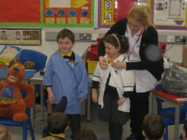Visit from dental nurse