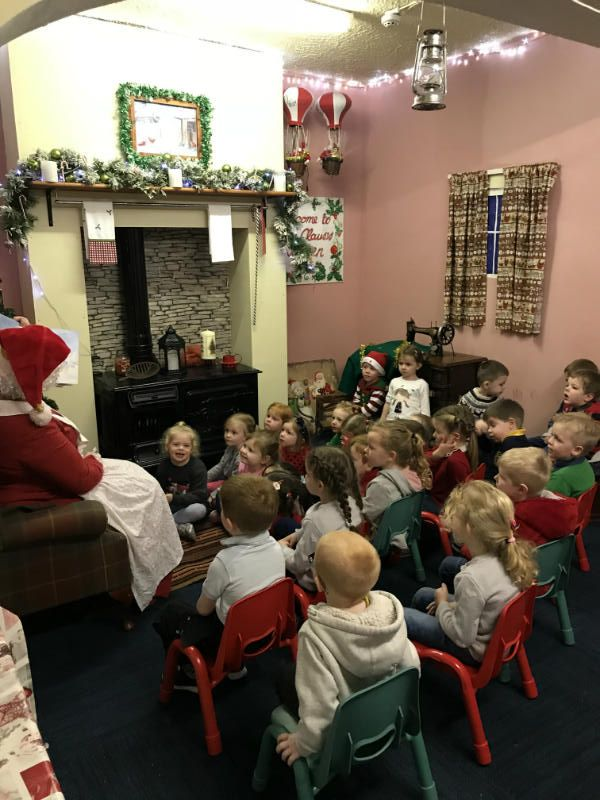 story time with Mrs Claus