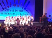 Junior Choir Make their School Proud
