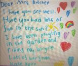 Kate's Letter from Home