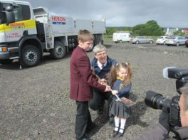 New School, Sod Cutting