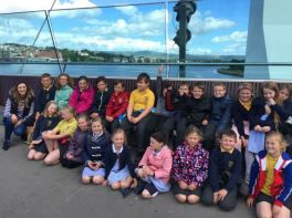 Year 5 Class Trip to Tower Museum and McDonalds