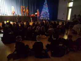 Holy Child and Oakgrove Visit for Christmas Show Performances