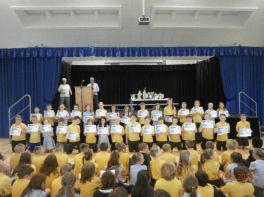 Primary 5 Certificate Prizegiving
